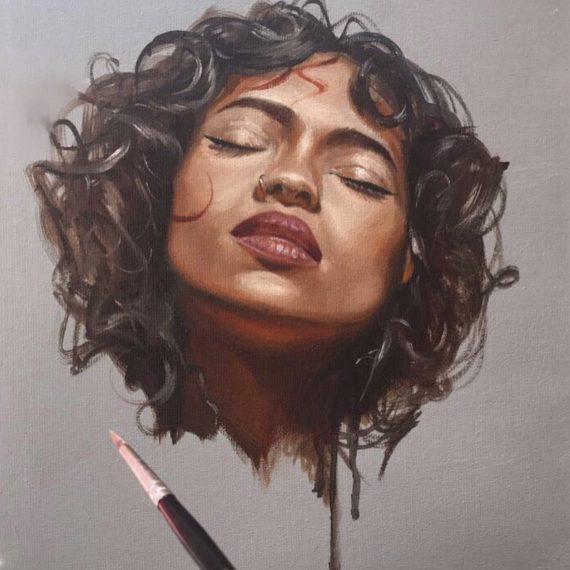 Safeyah Aljabouri Uk Based Artist Paintings Amp Commissions
